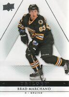 2013-14 Upper Deck Trilogy Hockey #7 Brad Marchand Boston Bruins