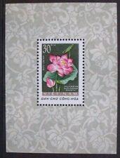VIETNAM 1962 Flowers Lotus. SOUVENIR SHEET. Mint Never Hinged. SGMS213a.