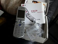 LG U8120 Mobile Phone In Box With Adapter, Charger, Earphones, Battery,...