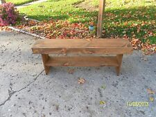 "bench, wood bench, wooden bench, 48"" bench"
