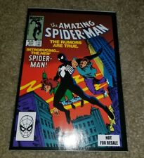 Marvel Comic Amazing Spider-man 252 NM+ 1st App Black Suit Venom RARE Promo HTF