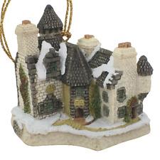 David Winter Christmas Ornament Christmas in Scotland and Hogmanay with Box