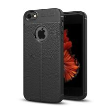 Apple Iphone 5/5s/Se Cellphone Case Protective Back Cover Silicone Black