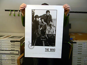 The Who - Vintage Art Poster - 27.5 x 19.5