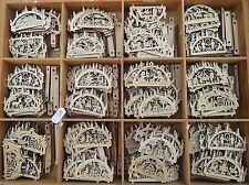 4.5cm Bestseller 18 X Diferentes Candelero Superprice Navidad Erzgebirge