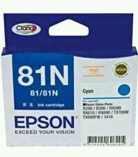 Genuine Epson (81N) Cyan  - High Yield