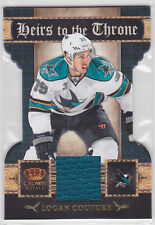 2011 11-12 Crown Royale Heirs To The Throne Materials #3 Logan Couture