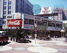 Photo. ca 1964. Seattle, WA.  Westlake Mall - Coke