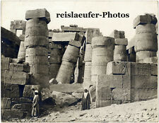 Karnak, Egypt, Zangaki, Original Photo, ca. 1890