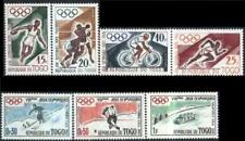 Togo 1960 Mi 276-82 ** Olympic Olympiade Box Bike Rower