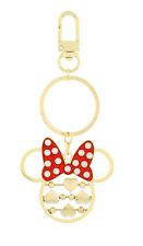 Disney Parks ~ Minnie Spinning Hearts Keychain