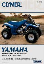 CLYMER SERVICE REPAIR MANUAL M499-2 YAMAHA YFM80 MOTO-4 1985 1986 1987 1988
