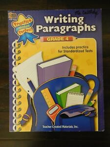 Teacher Created Resources WRITING PARAGRAPHS - Grade 4