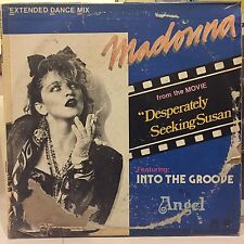 """Very Rare MADONNA Into The Groove / Philippines Records 12"""" vinyl"""