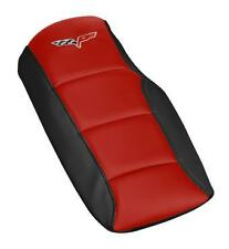 C6 Corvette 2005-2013 Embroidered Two Tone Console Cushion with C6 flag