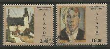 STAMPS-ALAND. 1992. Joel Petterson (Painter) Set. SG: 60/61. Fine Used/FDC