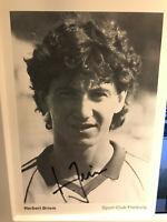 Herbert Briem - SC Freiburg 83/84 - Rar - Original sign. - VfB Stuttgart