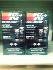 K&N KN RECHARGER AIR FILTER CLEANING SERVICE KIT 204ml AEROSOL OIL X 2