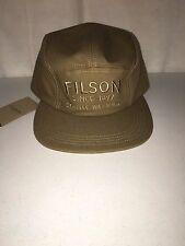 NEW WITH TAGS FILSON MADE IN USA 5 PANEL CAP