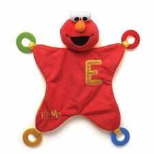 Elmo Activity Blanket and Teether Baby Safe Sesame Street Size 43cm