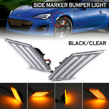 LED Side Marker Bumper Signal Indicator Light For Subaru BRZ Scion FR-S Toyota86