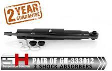 2 Trasero Amortiguadores De Gas Mitsubishi Montero Pajero Shogun V80 V90 // GH-333012/
