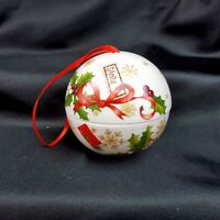 Villeroy and Boch Magnetic Christmas Ball Letters to Santa Porcelain Ornament