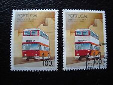 PORTUGAL - timbre yvert et tellier n° 1768 x2 obl (A28) stamp (J)