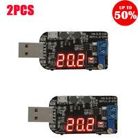 DC-DC USB 5V to 1.2-24V Step UP/Down Power Supply Module Boost Buck Converter 2X