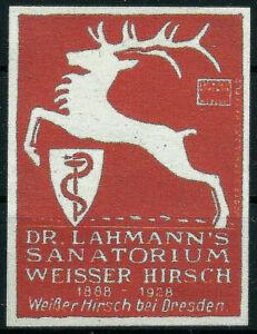 Reklamemarke, Künstler/Entw.:Ludwig Hohlwein - Dr. Lahmann´s Sanatorium (#25695)