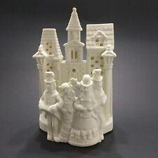 Partylite Village Caroles P0204 Bisque Figure Candle Holder Statue Decor