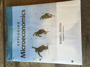 9781305617445 Bundle Exploring Microeconomics Loose Leaf Textbook MindTap Sexton