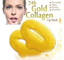 40 Gold Bio Collagen Lip Pads Masks patch Face Moisture