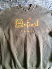 Vintage 1970s Oxford University Sweatshirt Screen Stars XL