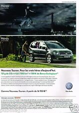 Publicité advertising 2010 VW Volkswagen Touran