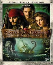 Pirates Of The Caribbean Dead Man's Chest DVD New & Sealed 2 Discs