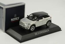 Citroen DS Crossback E-Tense 2019 Pearl Black Roof 1:43 Norev