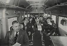 "Foto Lufthansa Junkers Ju 52 D-AFIR ""Joachim von Schröder"" Fluggäste Kabine 1934"