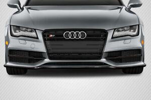 12-15 Audi A7 S Line Carbon Fiber Creations Front Bumper Lip Body Kit!!! 113378