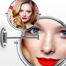 10 X Magnifying Wall Round Illuminated Bathroom Makeup Cosmetic Shaving Mirror
