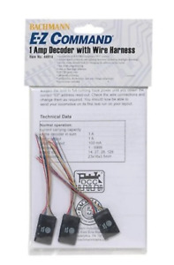 Bachmann Decoder 1 Amp With Wire Harness(3) *, #BAC44914