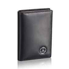 Mercedes Benz Business Card Holder Men Credit ID Case Women - Genuine Leather