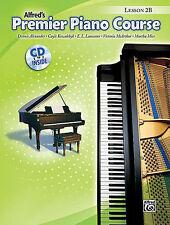 ALFRED'S PREMIER PIANO COURSE LESSON LEVEL 2B MUSIC BOOK W/CD BRAND NEW ON SALE!