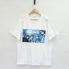 Vintage 2000 Oasis Shoulder of Giants World Tour T-Shirt Size Large Band Tee
