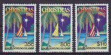 Kokos Inseln Mi Nr. 217 - 219 **, Weihnachten Christmas 1989, postfrisch, MNH