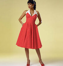 From UK Sewing Pattern Dress 1950's Look 14-22 # 6049
