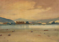 William Eyre (1891-1979) - Signed 1972 Watercolour, Welsh Coastline