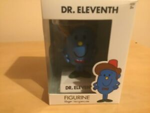 Dr Who Mr Men Little Miss Dr Eleventh - Matt Smith - Figure New And Boxed