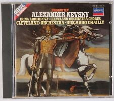 PROKOFIEV: Alexander Nevsky, Chailly LONDON Decca FULL SILVER W. Germany CD