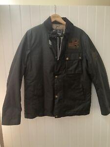 Barbour International Steve McQueen Workers Wax Jacket Size Medium BNWT coat